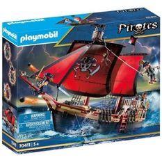 PLAYMOBIL 70411 - Les Pirates - Bateau pirates - Nouveauté 2020