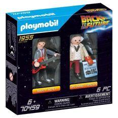 PLAYMOBIL 70459 - Retour vers le futur - Marty Mcfly et Dr. Emmett Brown - Nouveauté 2020
