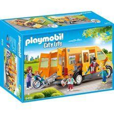 PLAYMOBIL 9419 - City Life - Bus scolaire - Nouveauté 2019