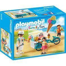 PLAYMOBIL 9426 - Family Fun - Marchand de glaces et triporteur - Nouveauté 2019