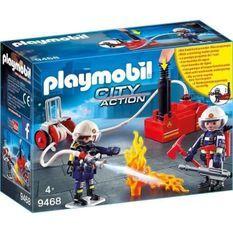 PLAYMOBIL 9468 - City Action - Pompiers avec matériel d'incendie - Nouveauté 2019