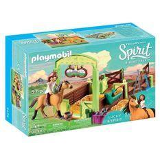 PLAYMOBIL 9478 - Spirit - Lucky et Spirit avec box - Nouveauté 2019