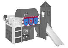Pochettes Spiderman pour lit mezzanine enfant