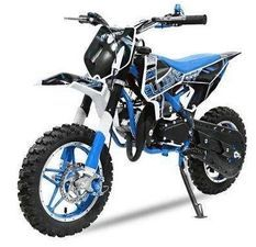 Pocket bike 49cc BullBike 10/10 bleu