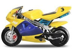Pocket bike course PS88 49cc jaune