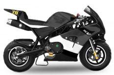 Pocket bike Rocket Deluxe PS50 49cc noir