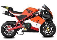 Pocket bike Rocket Deluxe PS50 49cc orange