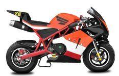 Pocket Bike Rocket Sport PS50 49cc Rouge