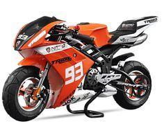 Pocket GP Tribo 49cc haut de gamme orange
