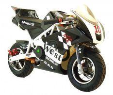Pocket piste Racing 50cc noir