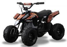 Pocket quad électrique 350W Trio orange