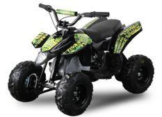 Pocket quad électrique 350W Trio vert