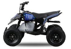 Pocket quad électrique Trio 350W Bleu