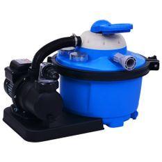 Pompe de filtration à sable avec minuterie 450W 25 litres