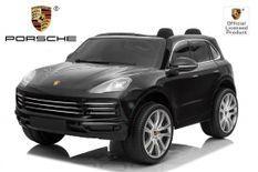 Porsche Cayenne S noir Voiture électrique 2 places enfant