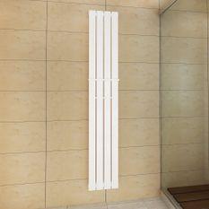 Porte-serviette 311mm + Radiateur panneau blanc 311mm x 1800mm