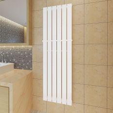 Porte-serviette 465mm + Radiateur panneau blanc 465mm x 1500mm
