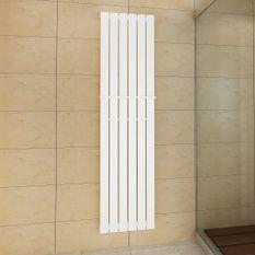 Porte-serviette 465mm + Radiateur panneau blanc 465mm x 1800mm