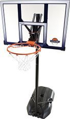 Poteau de Basketball portable Slam Dunk Gris