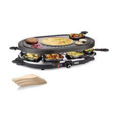 PRINCESS 162700 Appareil a raclette 8 personnes - Noir