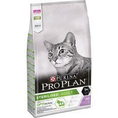 PRO PLAN Croquettes - Riche en dinde - Pour chat adulte stérilisé - 10 kg
