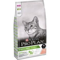 PRO PLAN Croquettes - Riche en saumon - Pour chat adulte stérilisé - 10 kg