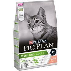 PRO PLAN Croquettes - Riche en saumon - Pour chat adulte stérilisé - 3 kg