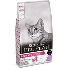 PRO PLAN Delicate Croquettes - Riche en dinde - Pour chat adulte - 10 kg