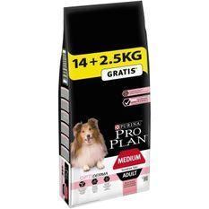 PRO PLAN Sensitive Skin Optiderma - Croquettes au saumon - Pour chien adulte de taille moyenne - 14 + 2,5 kg