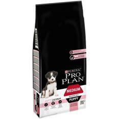 PRO PLAN Sensitive Skin Optiderma Croquettes - Riche en saumon - Pour chiot de taille moyenne - 12 kg