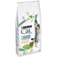 PURINA CAT CHOW Sterilised Croquettes - Avec NaturiumTM - Riche en poulet - Pour chat adulte - 10 kg