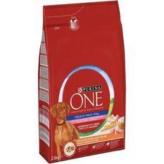 PURINA ONE Croquettes a la dinde Contrôle du poids Medium / Maxi > 10 kg - Pour chien adulte stérilisé moyen et grand - 2,5 kg