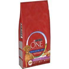 PURINA ONE Croquettes au boeuf et au riz Medium / Maxi > 10 kg - Pour chien adulte de moyenne et grande taille - 7 kg