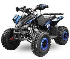 Quad 125cc automatique Rizzo RS8 bleu