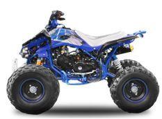 Quad 125cc manuel 3 vitesses Speedbird Sport bleu