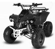 Quad 125cc Warrior XXL 8 Semi automatique Noir