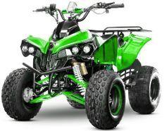 Quad ado électrique 1000W 48V vert Warrior 8