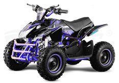 Quad électrique 1000W 48V Jumpy premium bleu