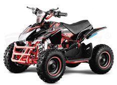 Quad électrique 1000W 48V Jumpy premium rouge