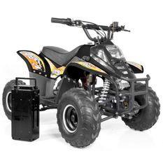 Quad électrique 500W brushless Bibou luxe 6