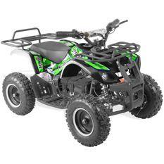 Quad électrique 800W Randonné vert et noir