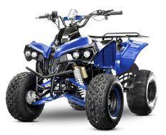 Quad électrique ado 1000W 48V bleu 7
