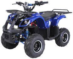 Quad électrique ado 1000W 48V bleu Toronto 7