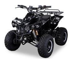 Quad électrique ado 1000W 48V noir 7