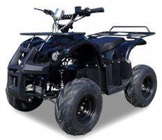Quad électrique ado 1000W 48V noir Toronto 7