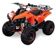 Quad électrique ado 1000W 48V orange 7
