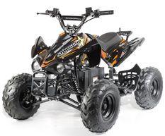 Quad électrique ado KX 750W brushless (1200W) orange