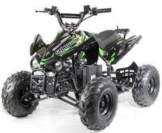 Quad électrique ado KX 750W brushless (1200W) vert