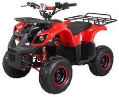Quad électrique ado Torento 1000W 48V Rouge 7