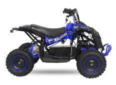 Quad enfant électrique 1000W 48V cross bleu